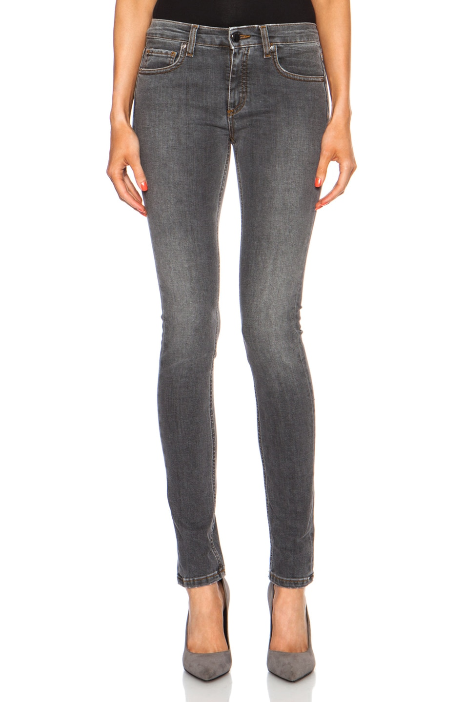 Image 1 of Victoria Beckham Denim Superskinny in Graphite