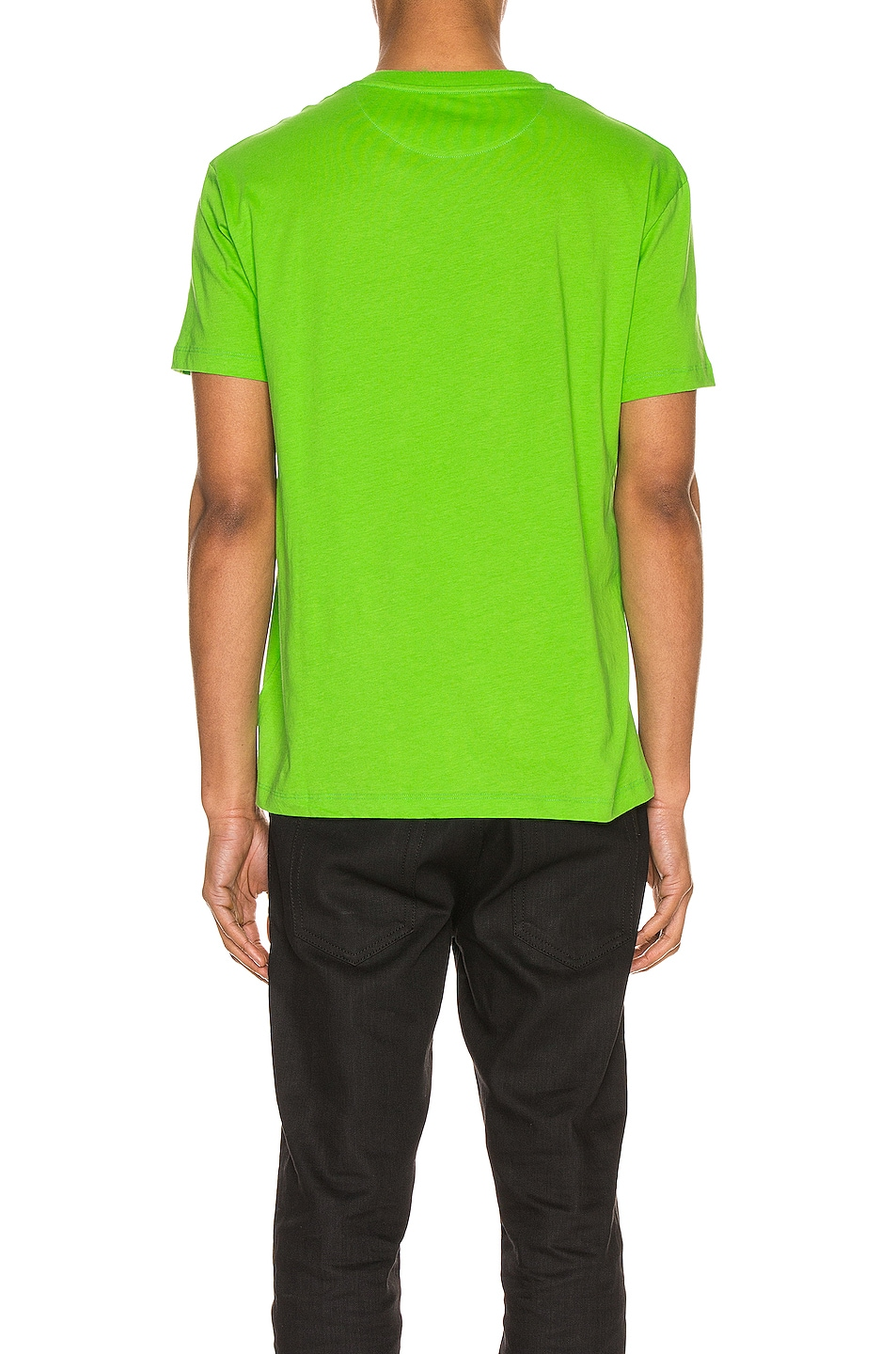 Image 3 of Valentino VLTN Tee in Fluo Green