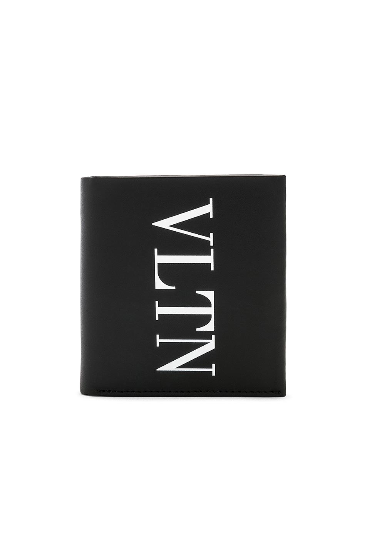 Image 1 of Valentino VLTN Billfold in Black & White