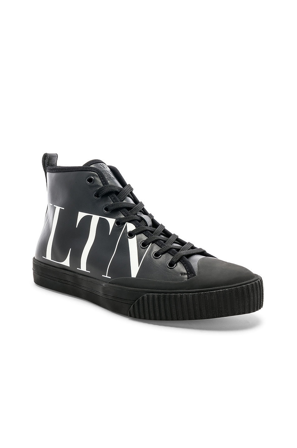 ValentinoLeather VLTN Hi Top Sneakers in . D06uMCWSBf