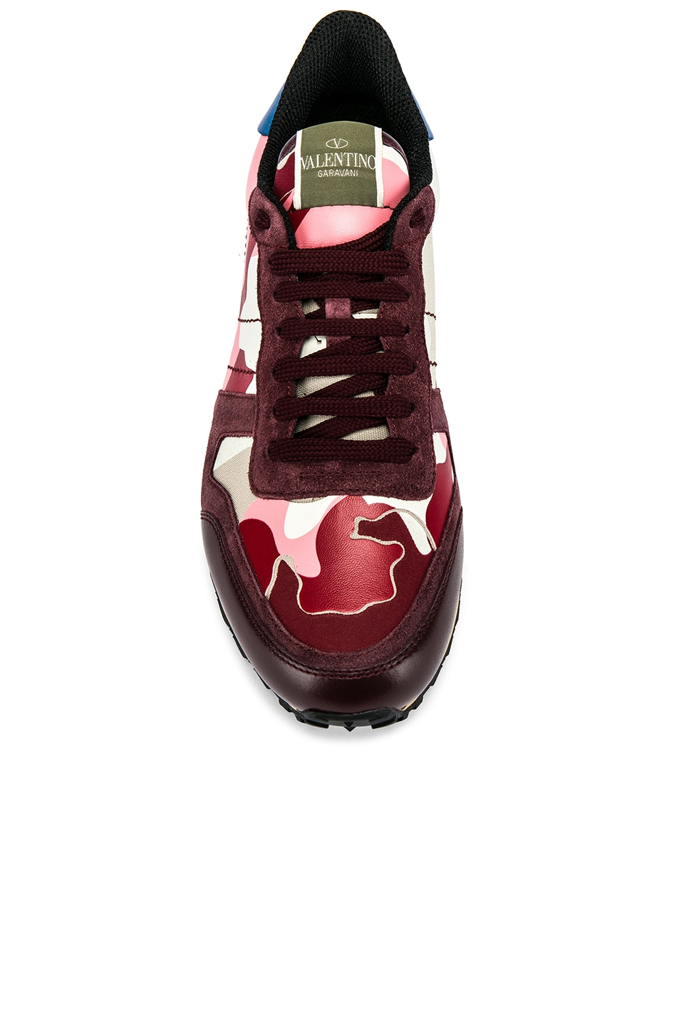 Image 4 of Valentino Camouflage Sneaker in Pink
