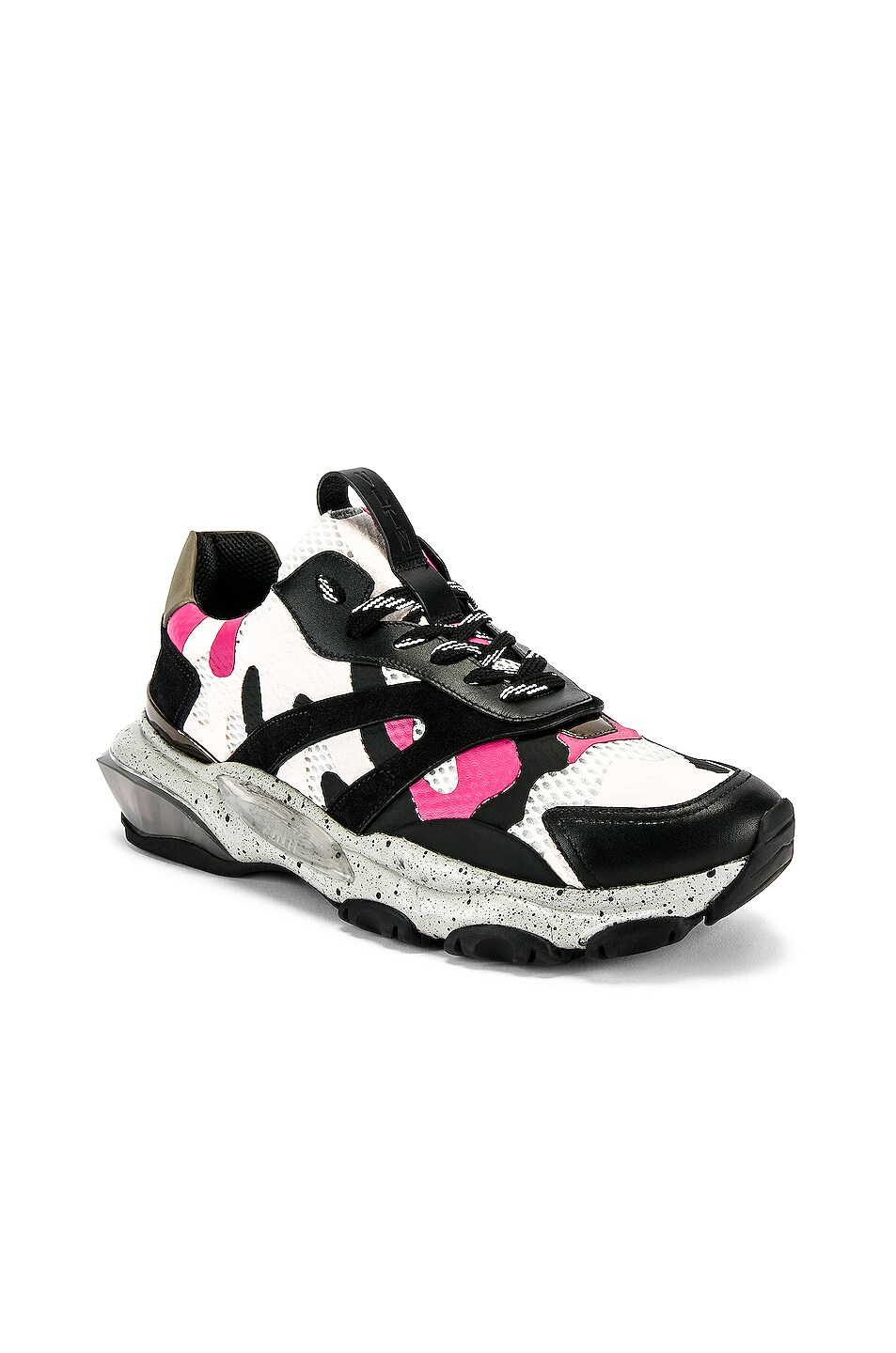 Image 1 of Valentino Low Top Sneaker in Multi & Pink