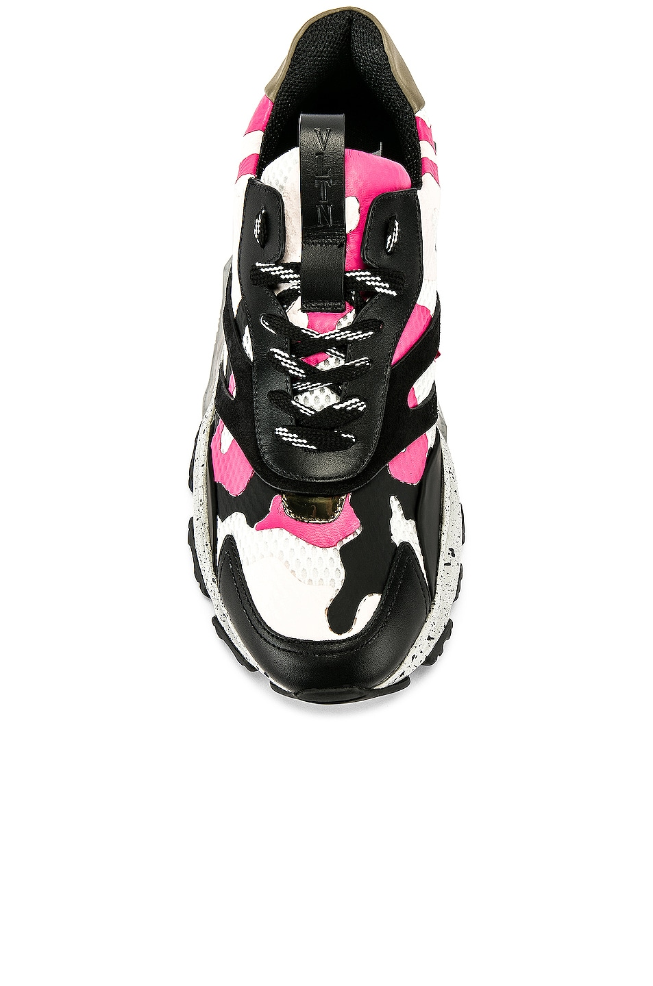 Image 4 of Valentino Low Top Sneaker in Multi & Pink