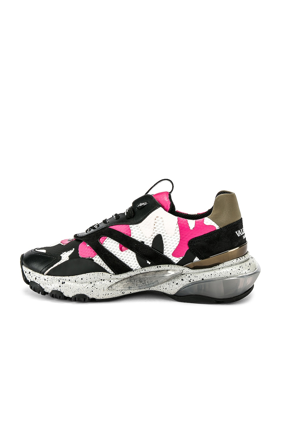Image 5 of Valentino Low Top Sneaker in Multi & Pink