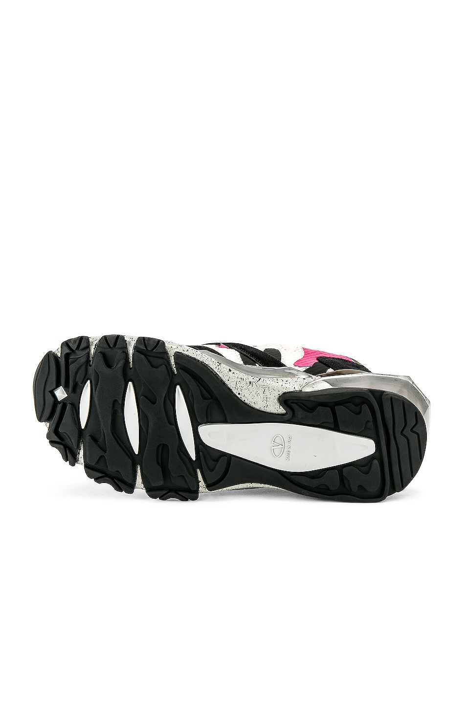 Image 6 of Valentino Low Top Sneaker in Multi & Pink