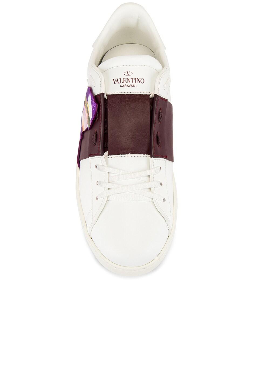 Image 4 of Valentino Open VGU Undercover in White
