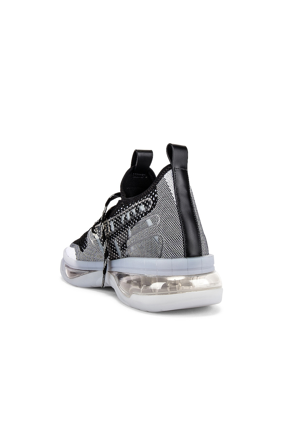 Image 3 of Valentino Low Top Sneaker in White & Black & Transparent