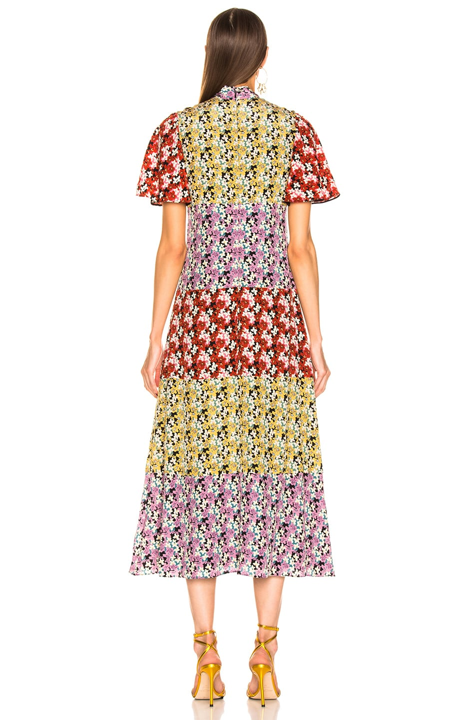 Image 3 of Valentino Spring Garden Dress in Multi