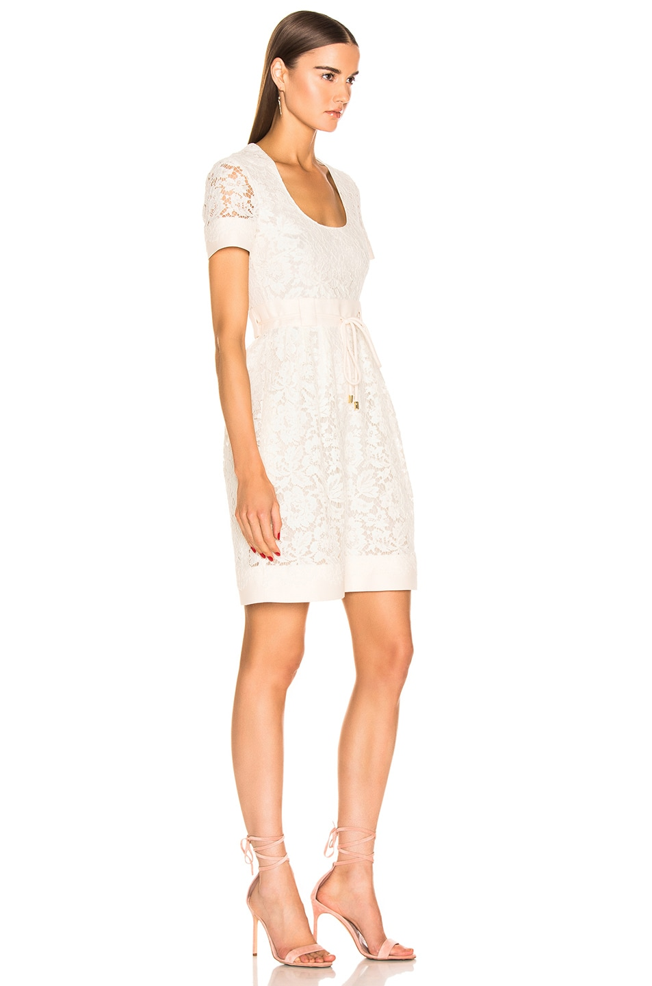 Image 2 of Valentino Lace Dress in Ivory