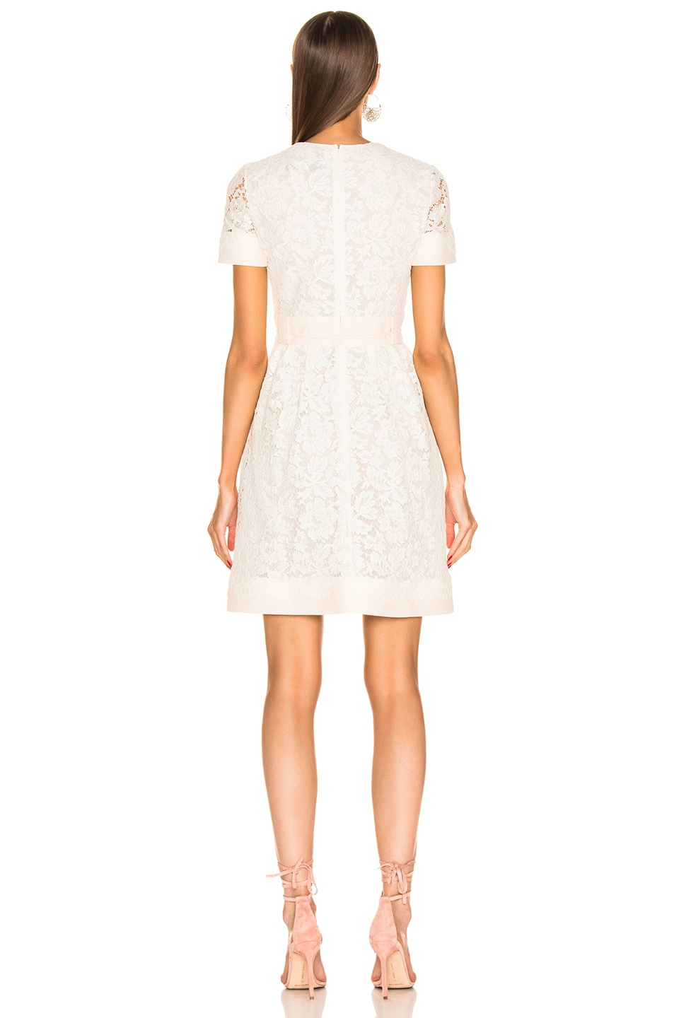 Image 3 of Valentino Lace Dress in Ivory