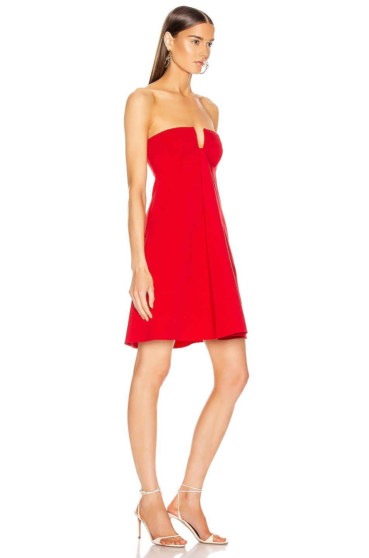 Image 2 of Valentino Mini Dress in Red