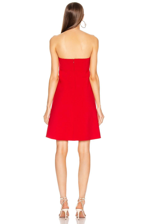 Image 3 of Valentino Mini Dress in Red