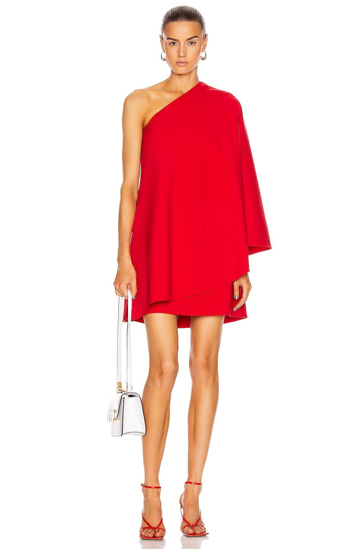 Image 1 of Valentino Mini Dress in Red