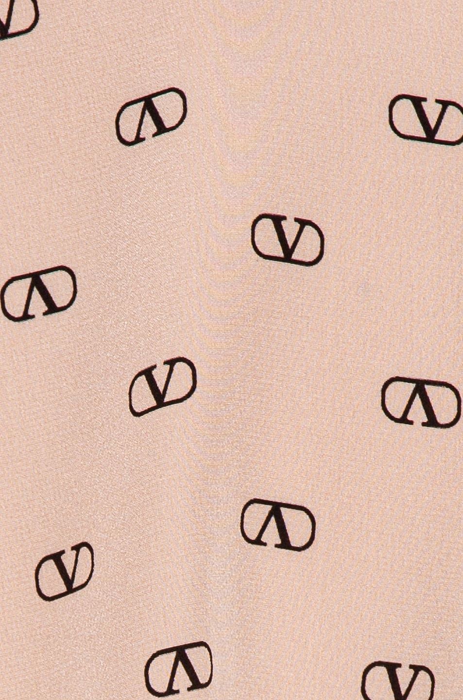Image 6 of Valentino Logo Button Up in Antique Rose & Black
