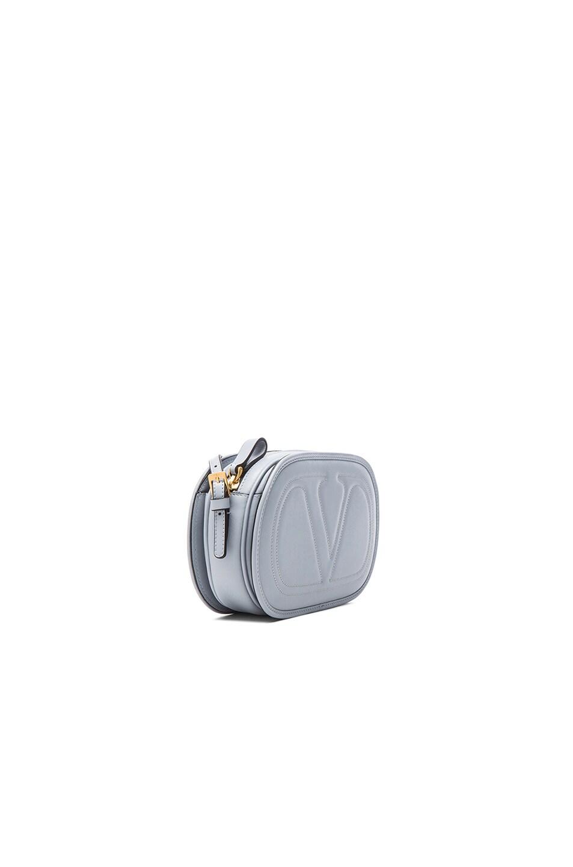 Image 4 of Valentino Small Logo Go Cross Body Bag in Water Sky