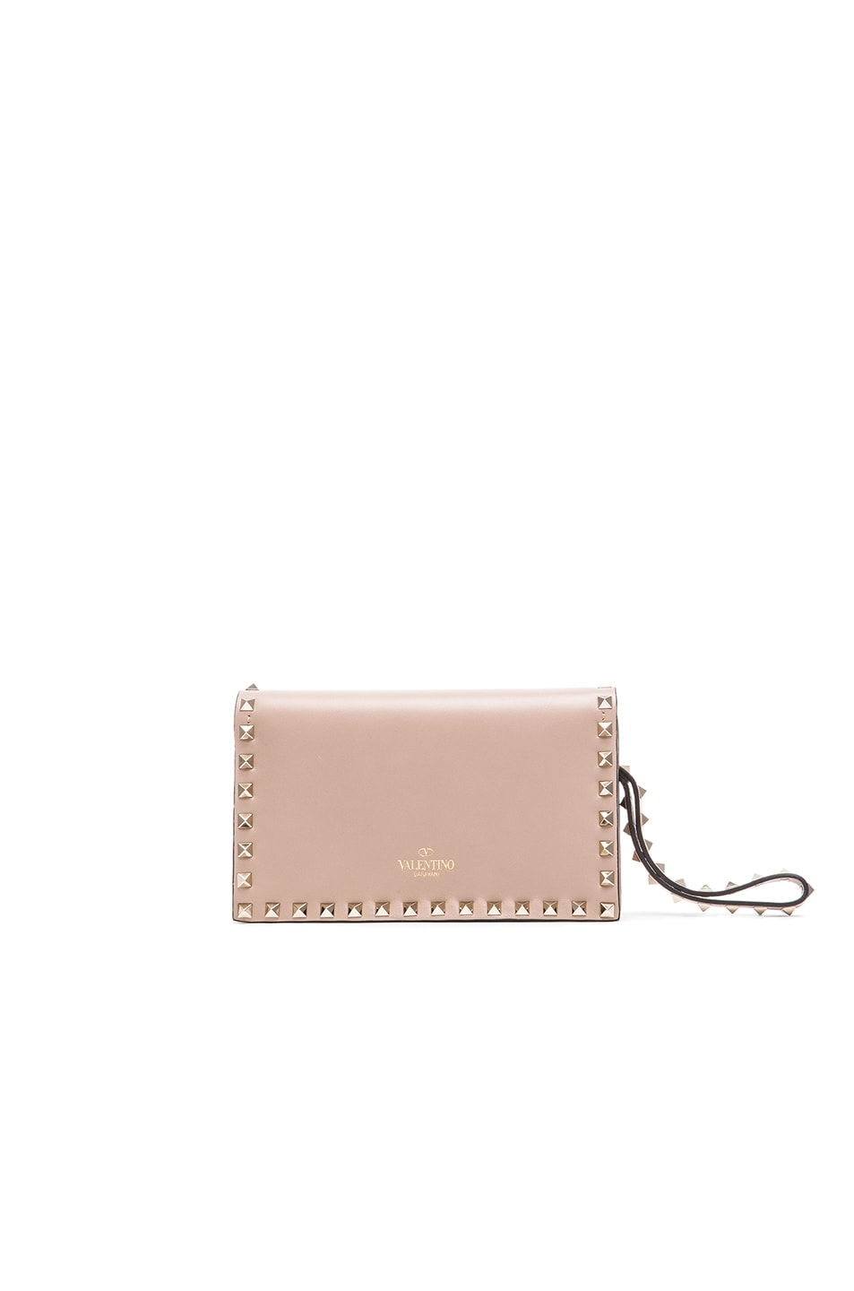 d2d9e98a79 Image 3 of Valentino Rockstud Small Clutch in Poudre