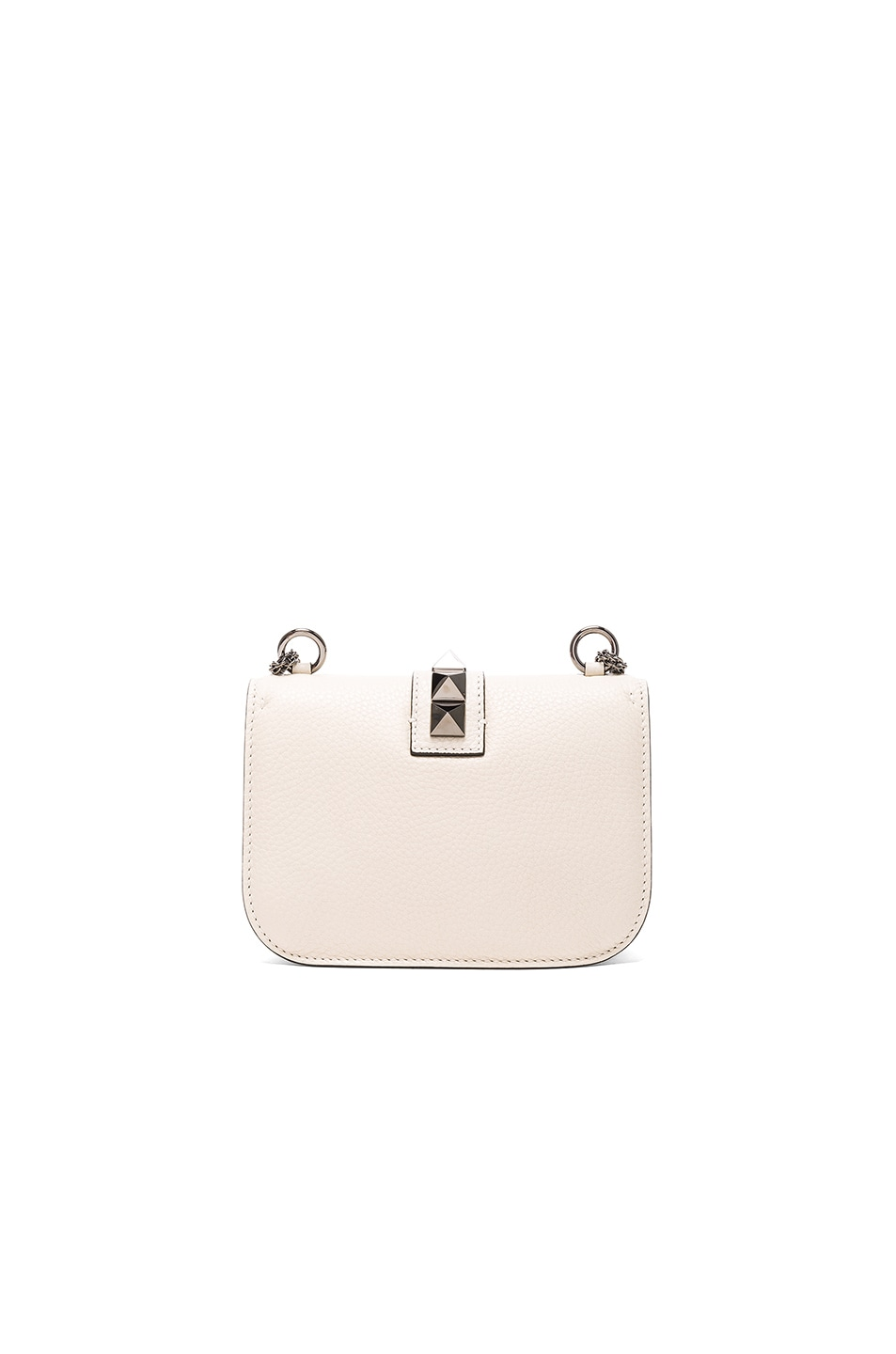 Image 2 of Valentino Small Lock Shoulder Bag in Light Ivory