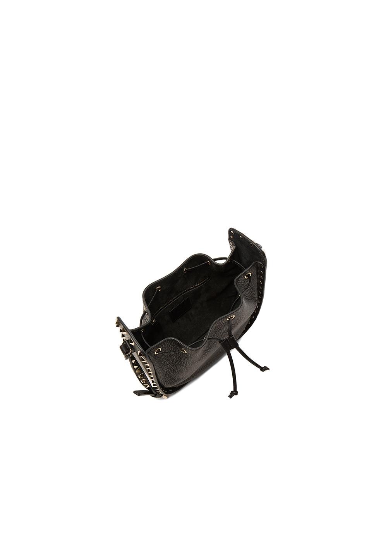 Image 4 of Valentino Rockstud Bucket Bag in Black