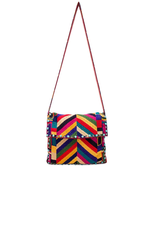 Image 5 of Valentino Santeria Shoulder Bag in Multi