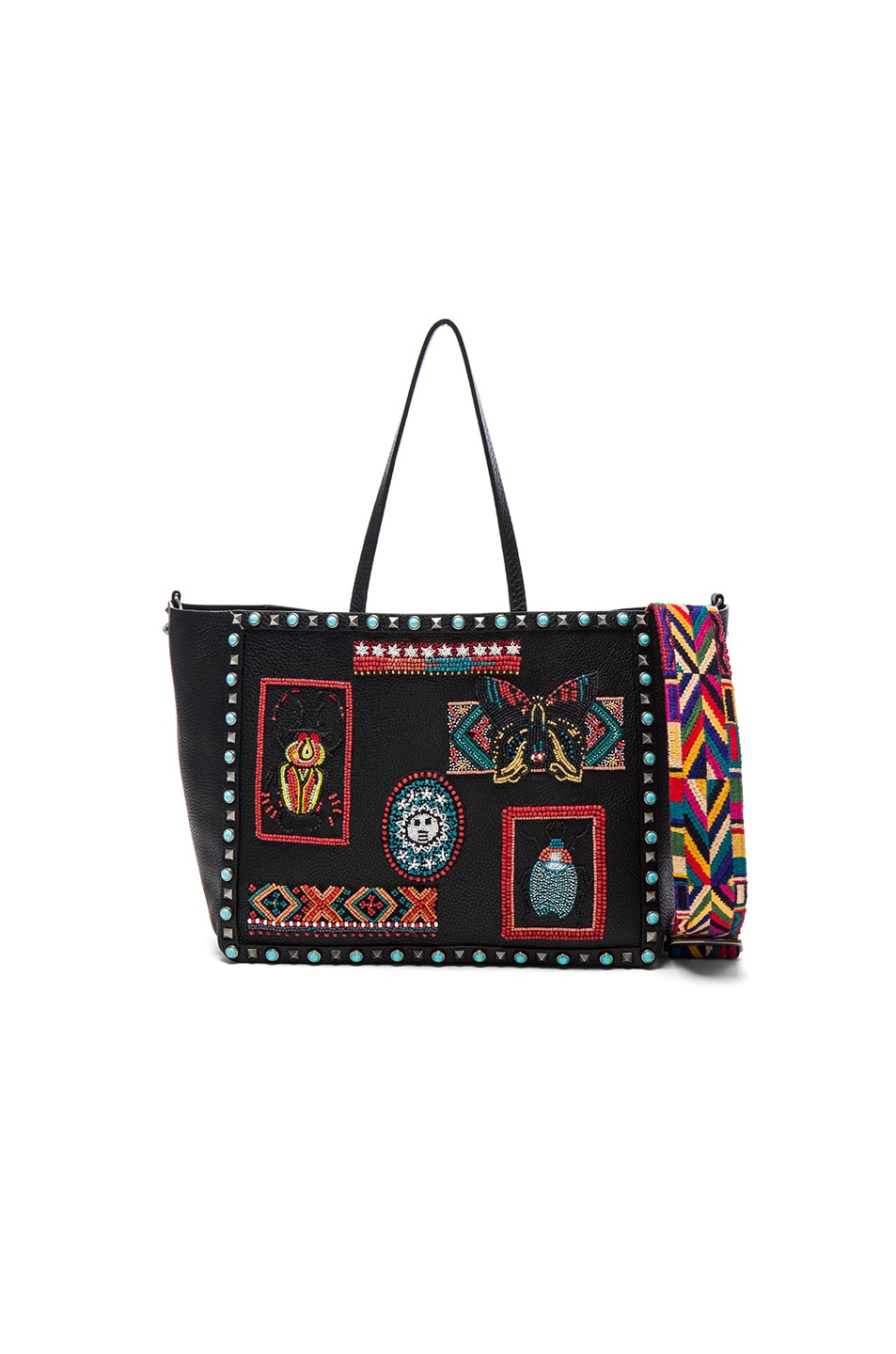 Image 1 of Valentino Medium Santeria Tote in Multi