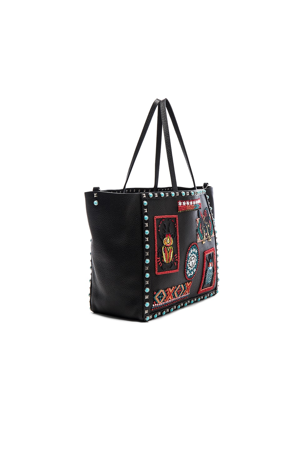 Image 3 of Valentino Medium Santeria Tote in Multi