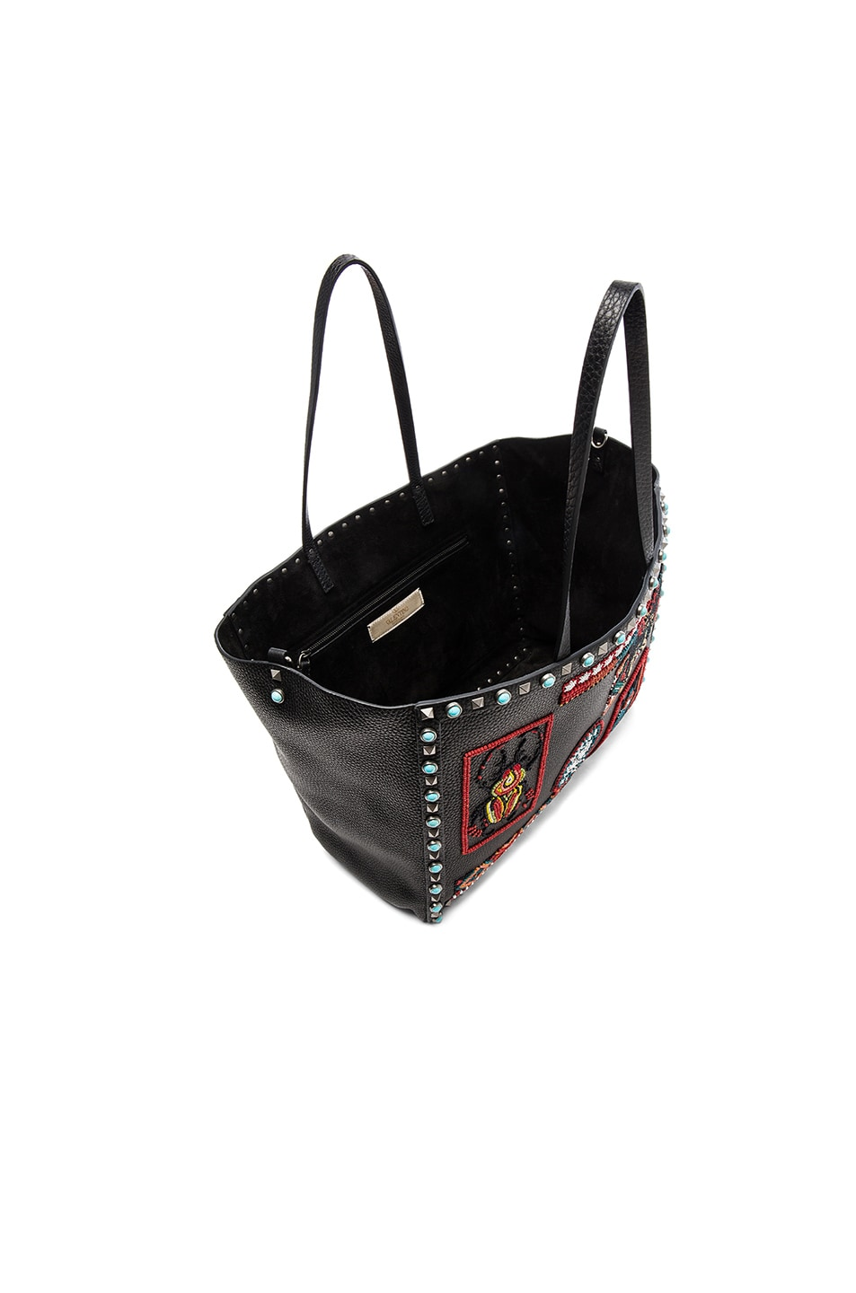 Image 4 of Valentino Medium Santeria Tote in Multi