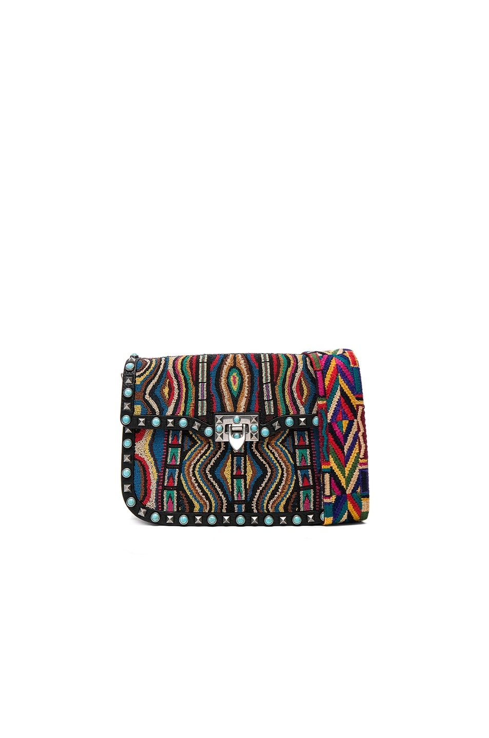 Image 1 of Valentino Santeria Shoulder Bag in Multi