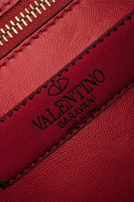 Image 7 of Valentino Medium Rockstud Spike Shoulder Bag in Poudre
