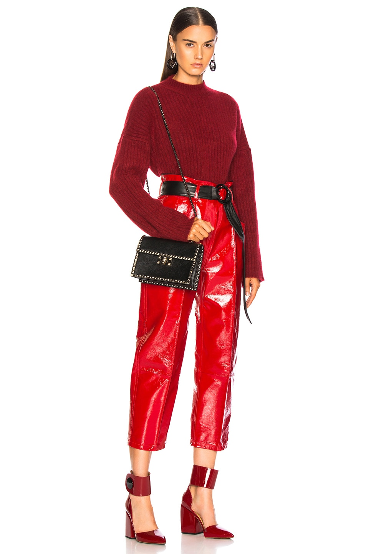 Image 2 of Valentino Small Rockstud No Limit Crossbody Bag in Black