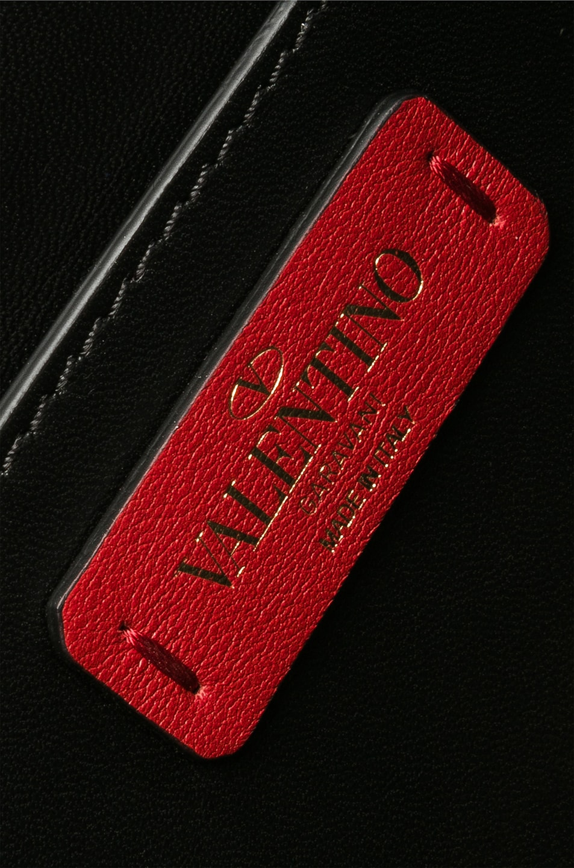 Image 7 of Valentino Small Rockstud No Limit Crossbody Bag in Black