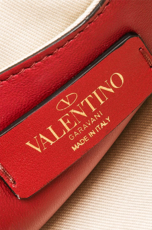 Image 7 of Valentino Mini Candystud Shoulder Bag in Red