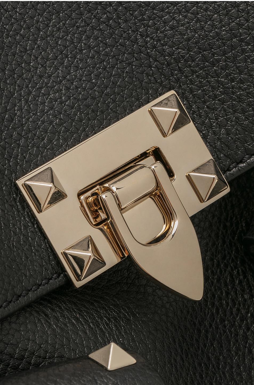 Image 7 of Valentino Rockstud Backpack in Black