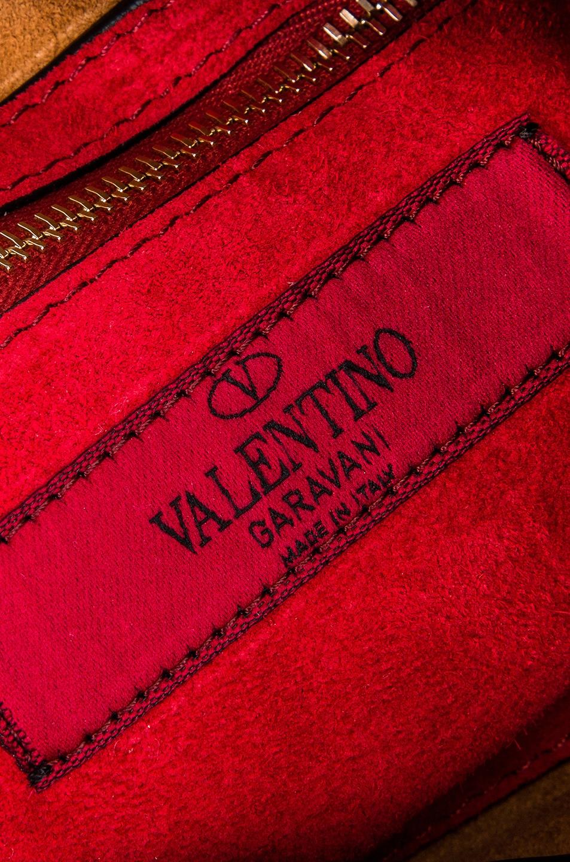 Image 7 of Valentino Spike It Medium Shoulder Bag in Light Brown