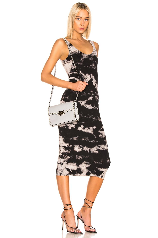 Image 2 of Valentino Rockstud Small Shoulder Bag in Pastel Grey