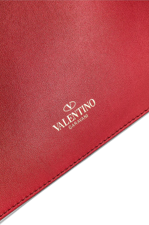Image 6 of Valentino VLTN Grande Plage Tote in Transparent & Nero