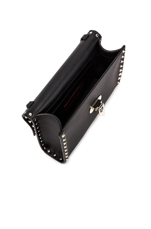 Image 5 of Valentino Rockstud Small Shoulder Bag in Nero