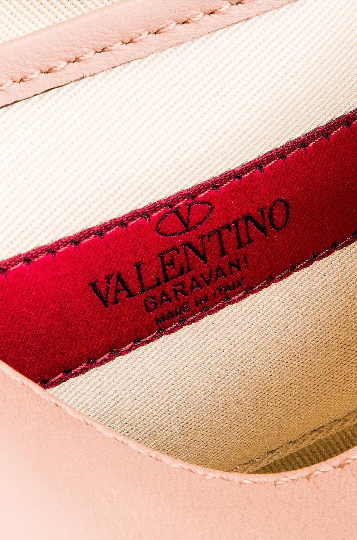 Image 7 of Valentino Rockstud Small Shoulder Bag in Rose Cannelle