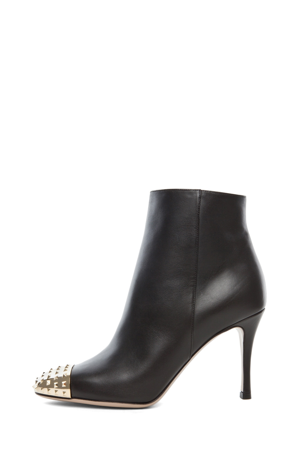 Image 1 of Valentino Extreme Tip Boot T.85 in Black