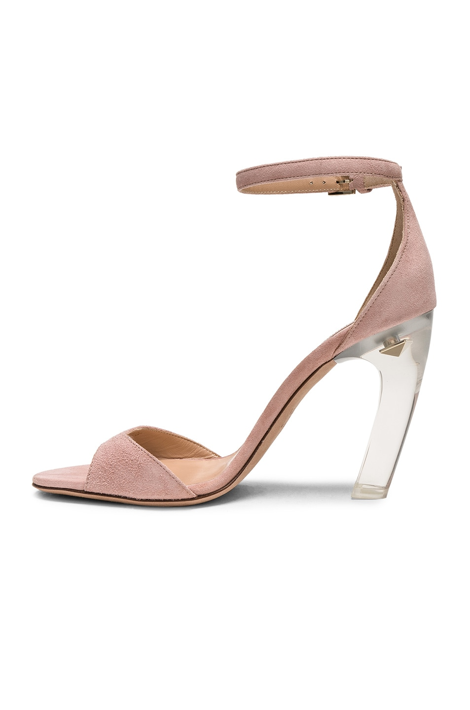 Image 5 of Valentino Twinkles Ankle Strap Sandals in Dusty Rose