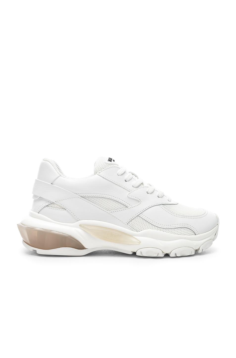Image 1 of Valentino Bounce Sneakers in White
