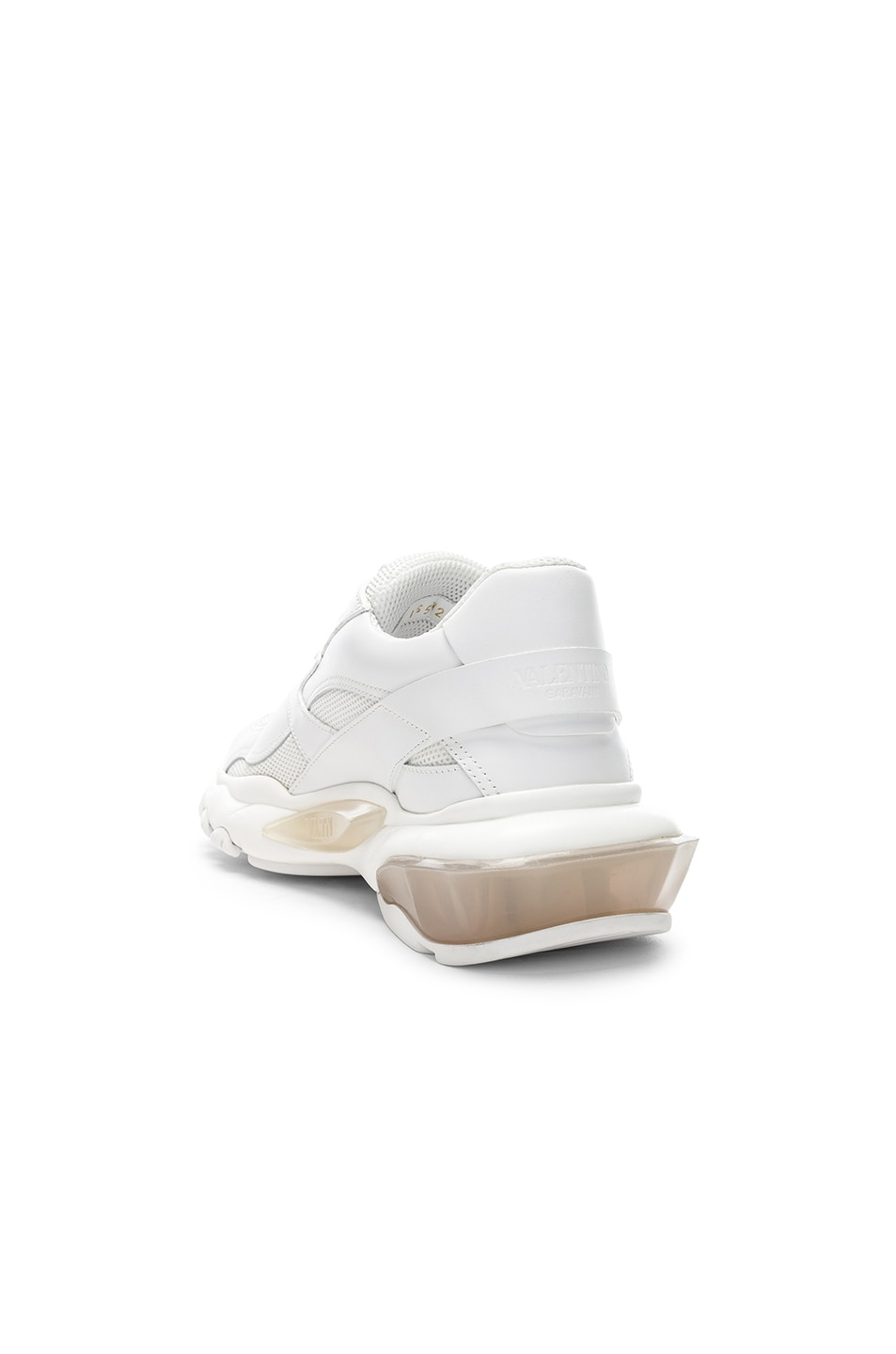 Image 3 of Valentino Bounce Sneakers in White