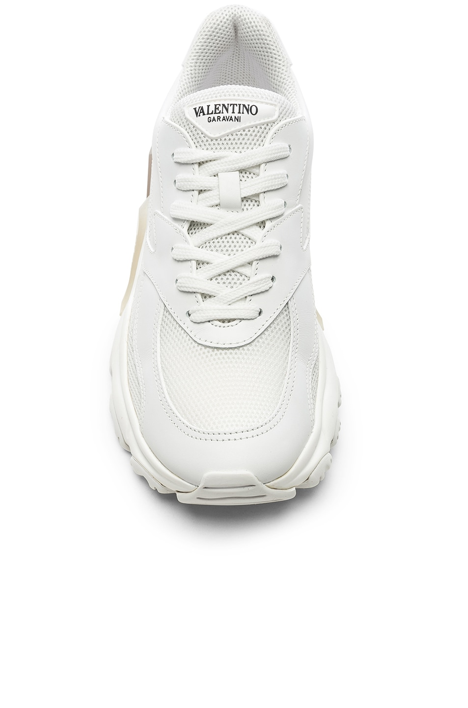 Image 4 of Valentino Bounce Sneakers in White