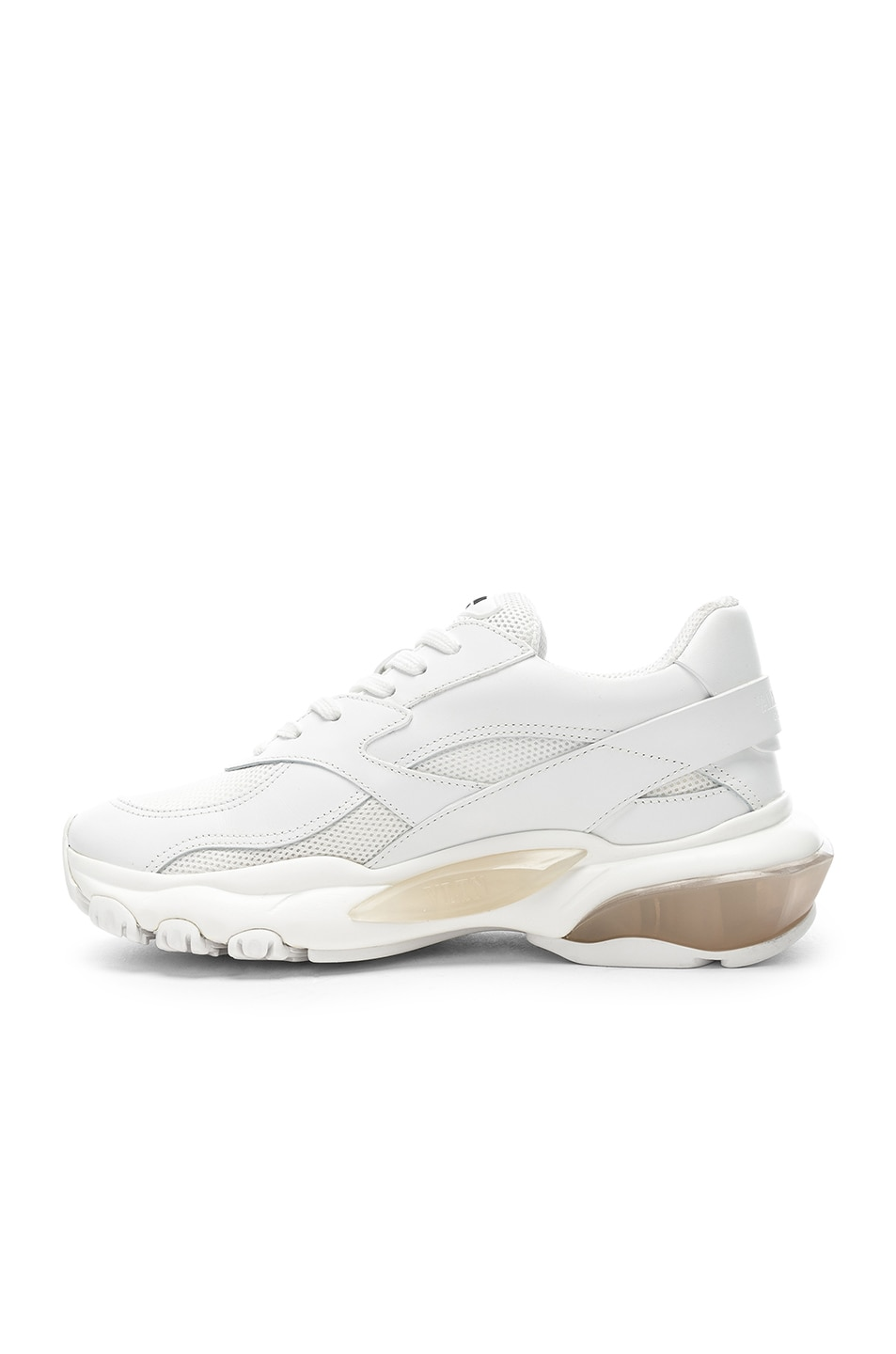 Image 5 of Valentino Bounce Sneakers in White