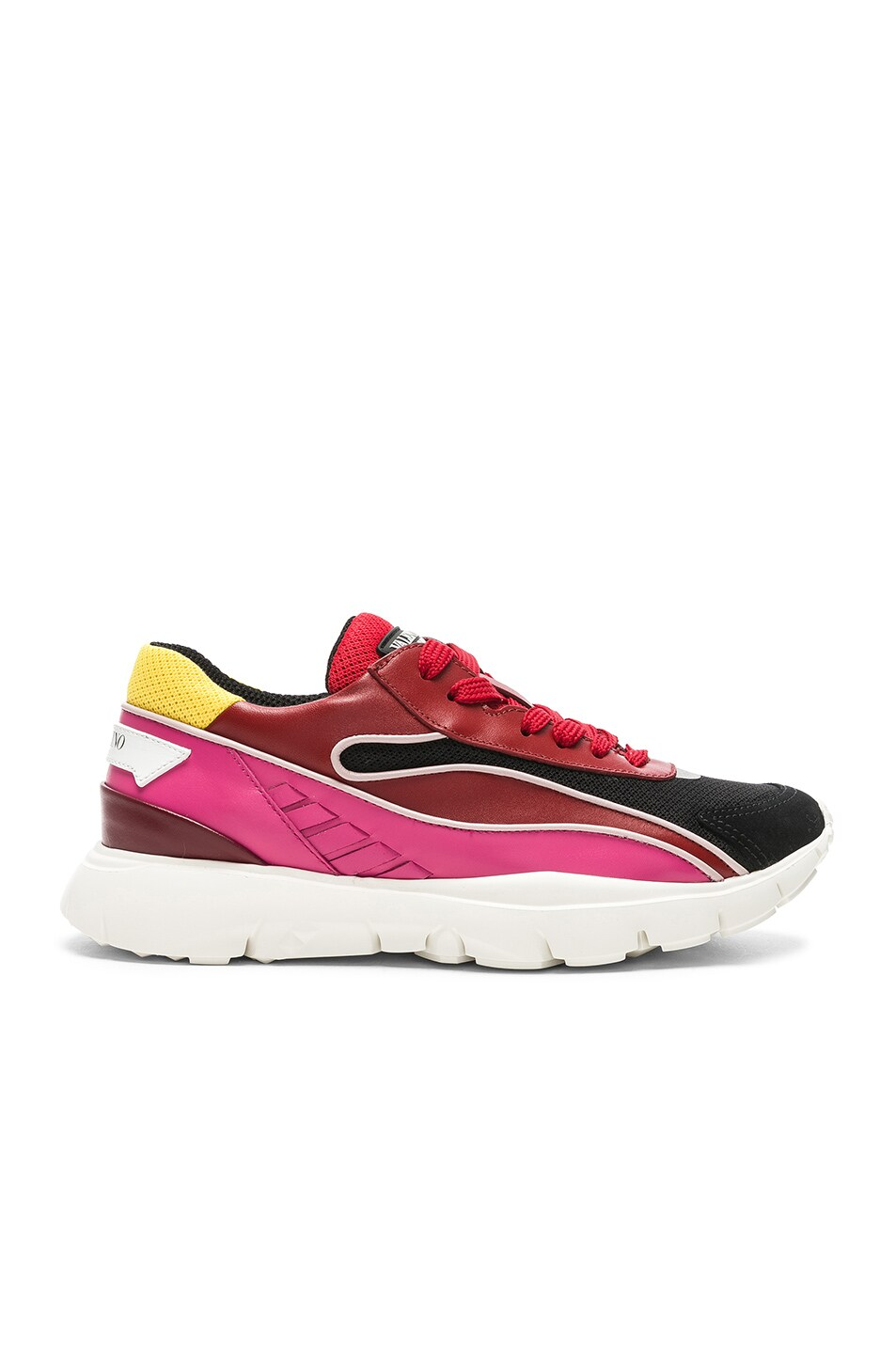 Image 1 of Valentino Heroes Her Sneakers in Multicolor & Silver