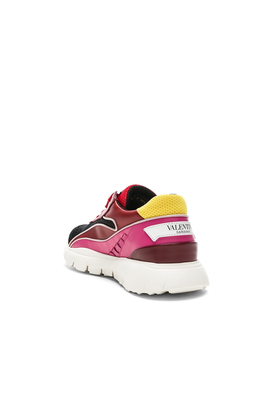 Image 3 of Valentino Heroes Her Sneakers in Multicolor & Silver