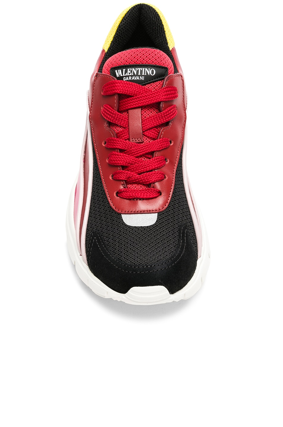 Image 4 of Valentino Heroes Her Sneakers in Multicolor & Silver
