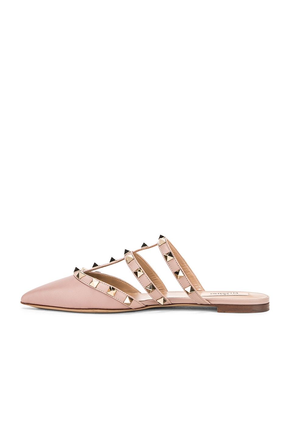 Image 5 of Valentino Rockstud Mules in Poudre