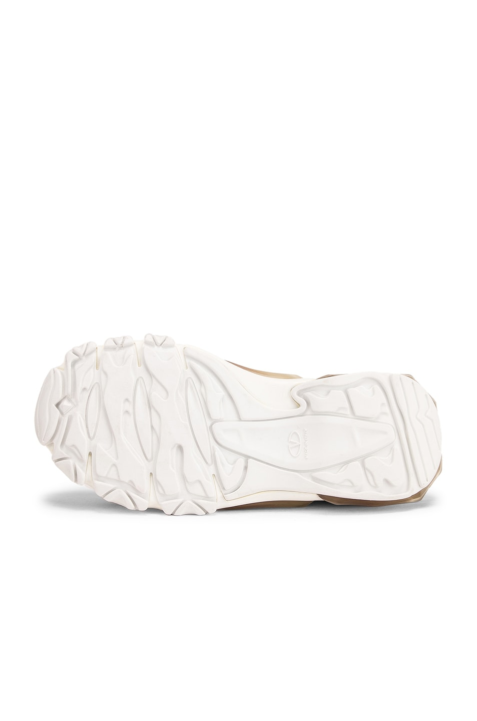 Image 6 of Valentino Bounce Sneakers in White & Rose