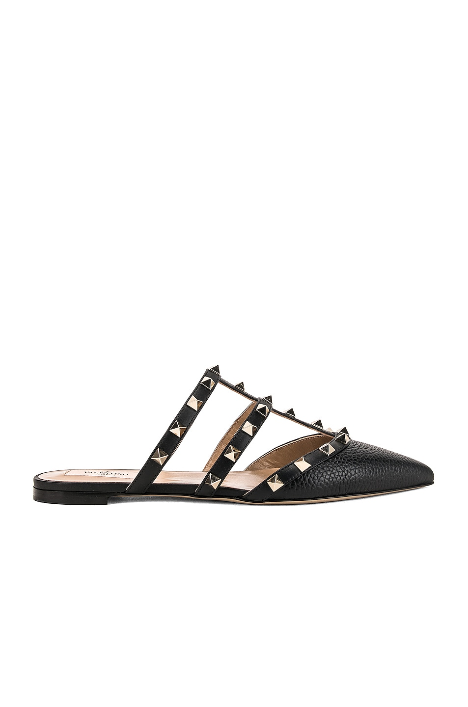 Image 1 of Valentino Rockstud Slide in Nero