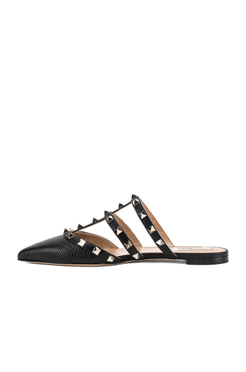 Image 5 of Valentino Rockstud Slide in Nero